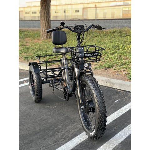 Emojo Caddy Electric Bike front