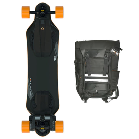 Image of exway flex riot and backpack