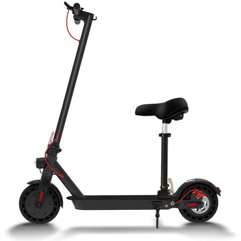 Hiboy S2 Electric Scooter with seat side view