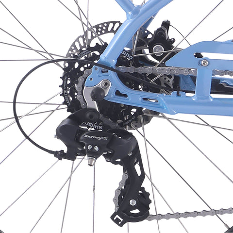 Image of IZIP Vibe 2.0 Step-Thru Electric Bike chains