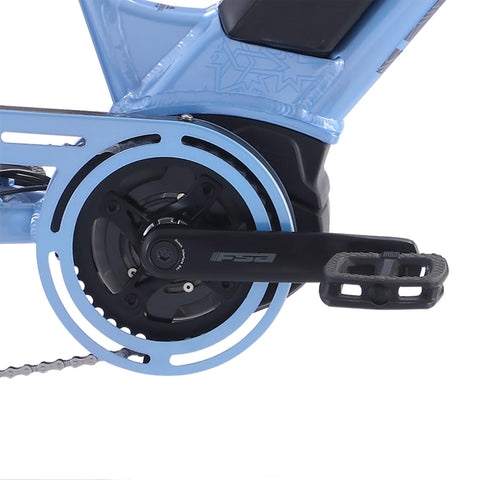 Image of IZIP Vibe 2.0 Step-Thru Electric Bike center pedal