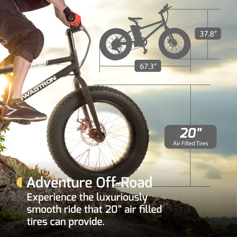 Swagtron EB6 Fat Tire All-Terrain E-Bike