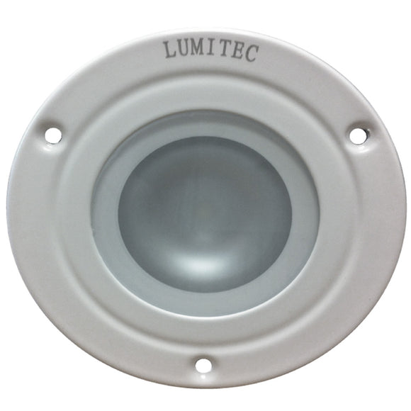 Lumitec Shadow - Flush Mount Down Light - White Finish - White Non Dimming [114123]