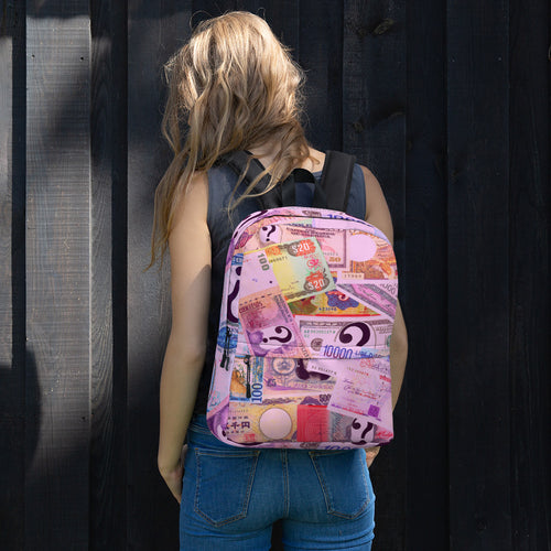 COLOR MONEY Backpack - Pink