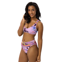 Load image into Gallery viewer, COLOR MONEY Recycled high-waisted bikini