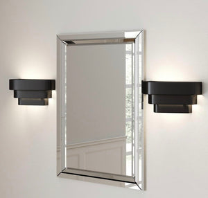 Metal shade wall sconces