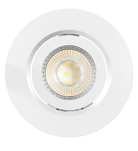 Globe Electric 3 in. 3000K White New Construction and Remodel Integrated LED Recessed Lighting Kit (4-Pack)