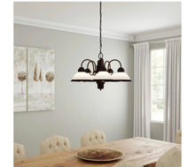 Load image into Gallery viewer, 5 light chandelier