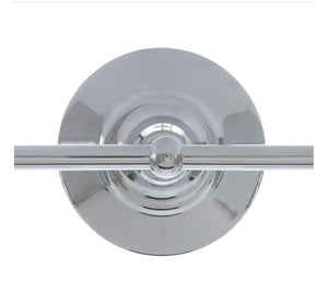 World Imports Asten Collection 2-Light Chrome Bath Bar Light