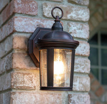 Load image into Gallery viewer, Exterior Wall Lantern- Bronze finish