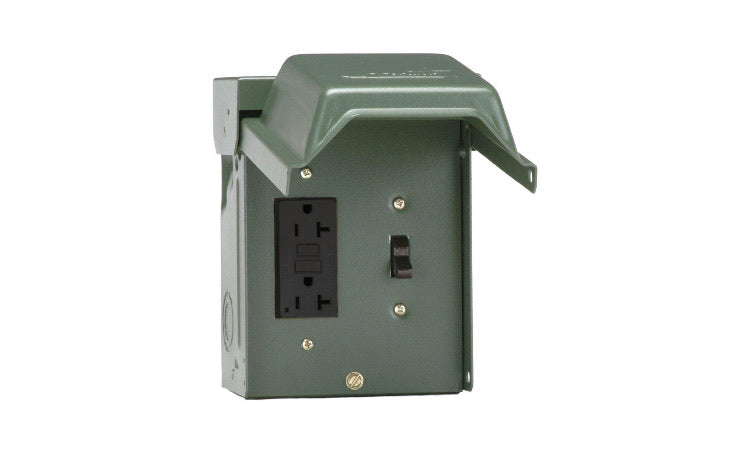 Backyard Power Outlet