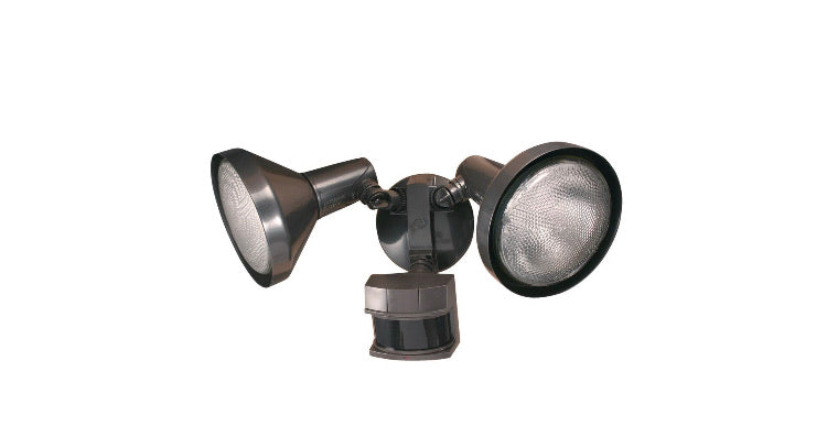 Heath Zenith 240° Bronze Motion Activated Outdoor Flood Light