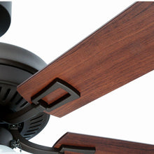Load image into Gallery viewer, Sinclair 44 in. LED Indoor Oil-Rubbed Bronze Ceiling Fan with Light Kit