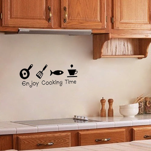 Enjoy Cooking Wall Sticker