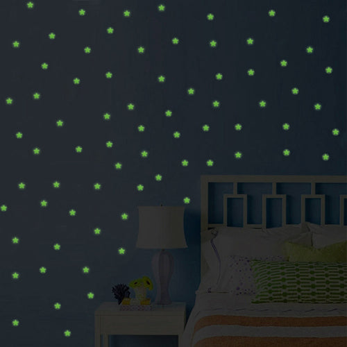 Glow In The Dark Stars (100 pieces)