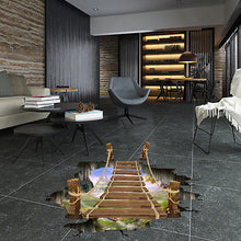 Wood Bridge 3D Floor Sticker
