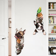 Pets Home Crew 3D Wall Sticker