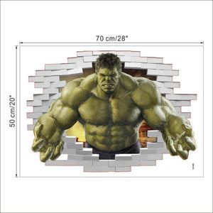 The Hulk 3D Wall Sticker