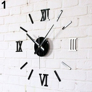 Tick, Tock Mirror Wall Sticker
