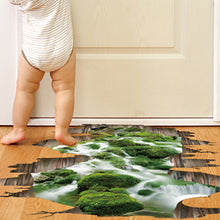 Tropical Waterfall 3D Floor Sticker