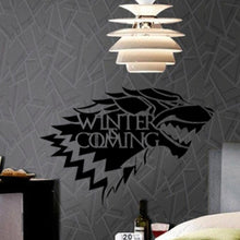 """Winter is Coming"" Game of Thrones Wall Sticker"