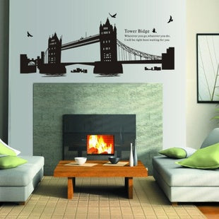 London Tower Bridge Wall Sticker