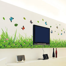 Butterfly In Grass Wall Sticker