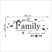 Family First Wall Sticker