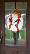 Load image into Gallery viewer, Baseball Door Hanger, Sports Door Hanger
