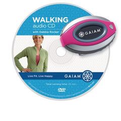 GAIAM WALK FIT KIT BEGINNER CD PEDOMETER