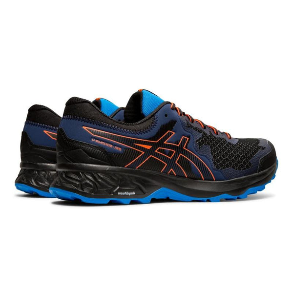 ASICS MENS SONOMA 4 BLACK/FLASH CORAL