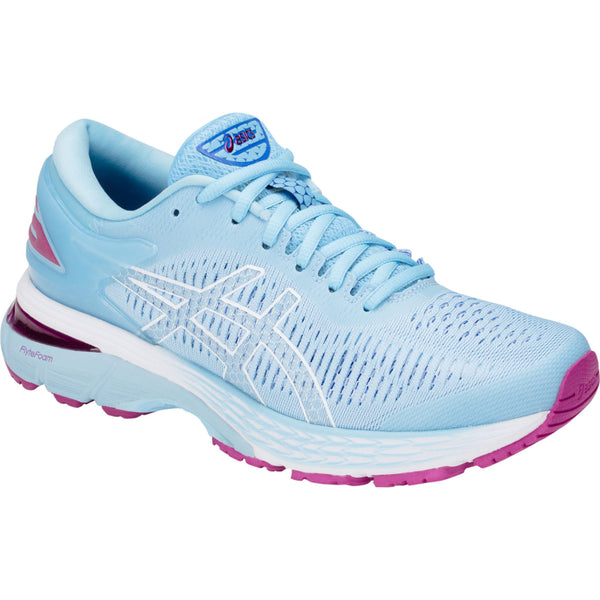 ASICS WOMENS KAYANO 25 SKYLIGHT/ILLUSION BLUE