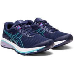 ASICS WOMENS GT 1000 8 (WIDE) PEACOAT/ICE MINT