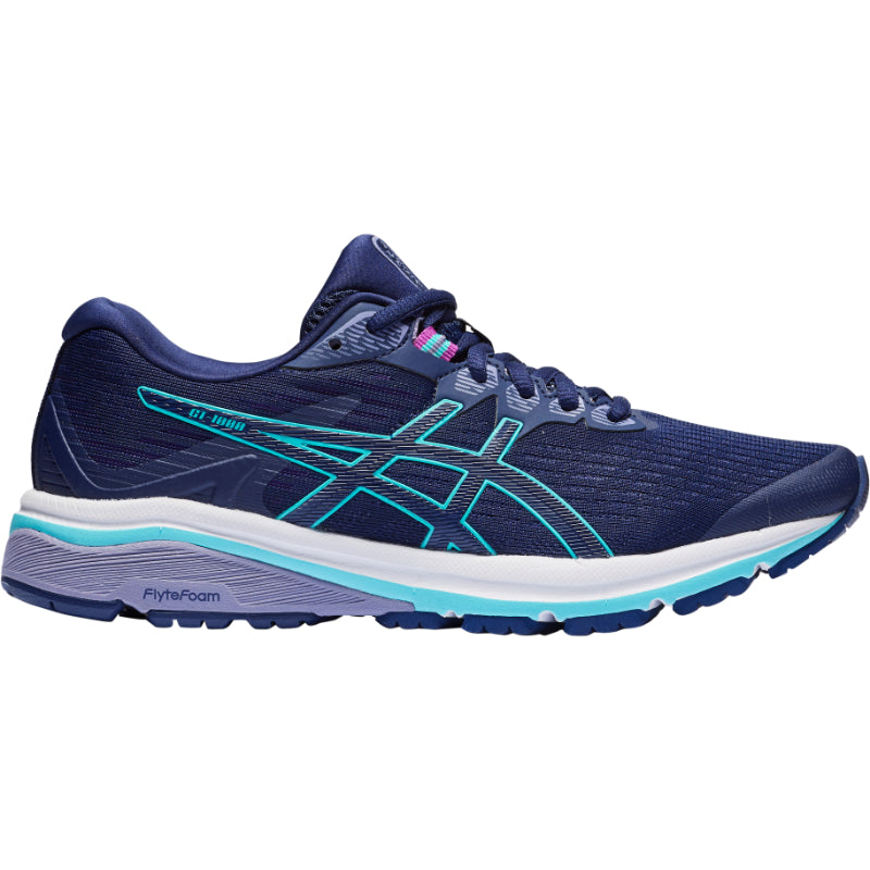 ASICS WOMENS GT 1000 8 (WIDE)