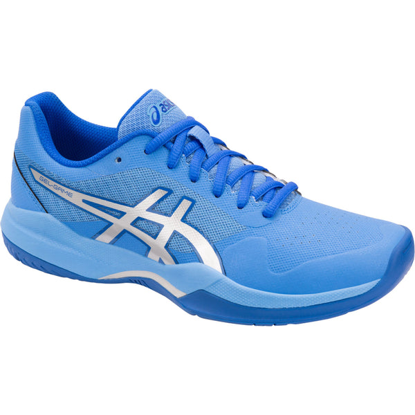 ASICS WOMENS GAME 7 BLUE COAST/SILVER