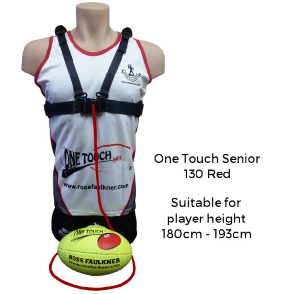 ROSS FAULKNER ONE TOUCH SENIOR (130 RED)
