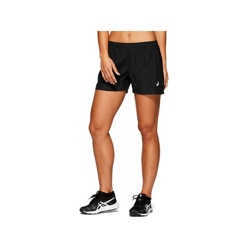 ASICS WOMENS SILVER 4 INCH SHORT