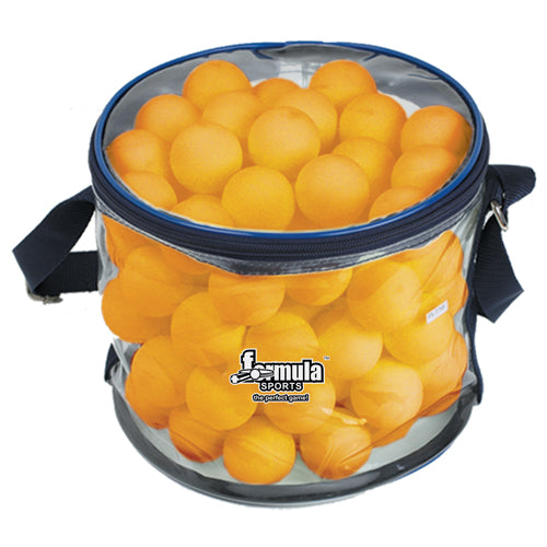 FORMULA SPORTS TABLE TENNIS BALLS 100 PACK ORANGE