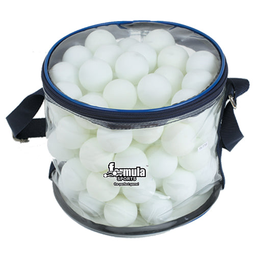 FORMULA SPORTS TABLE TENNIS BALLS 100 PACK WHITE