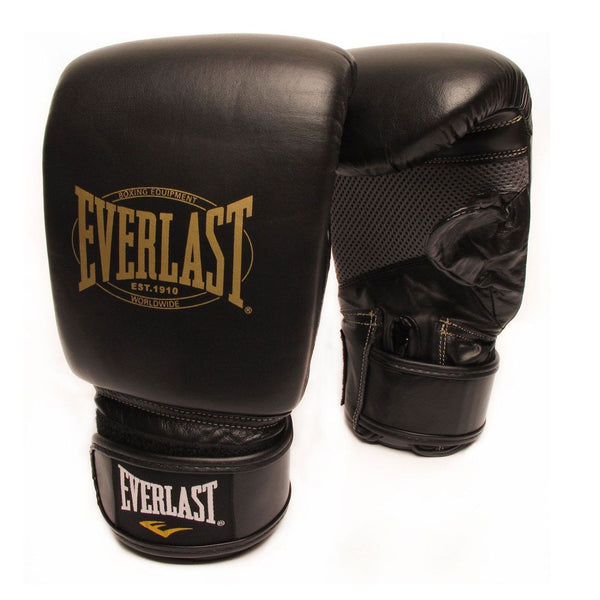 EVERLAST 1910 LEATHER TRAINING GLOVES