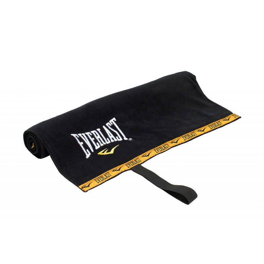 EVERLAST WORK OUT TOWEL BLACK