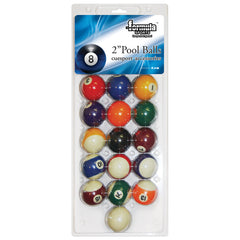 FORMULA SPORTS POOL BALLS 2 INCH BLISTER PACK
