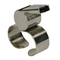 GILBERT FINGERGRIP BRASS  WHISTLE