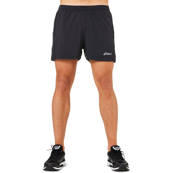 ASICS MENS ELITE BOXER SHORT BLACK