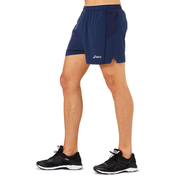 ASICS MENS ELITE BOXER SHORT NAVY