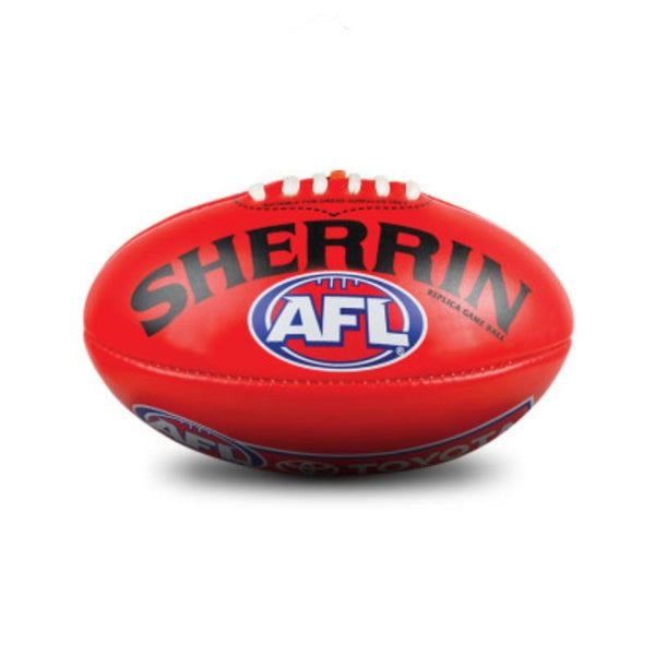 SHERRIN AFL REPLICA PVC FOOTBALL RED