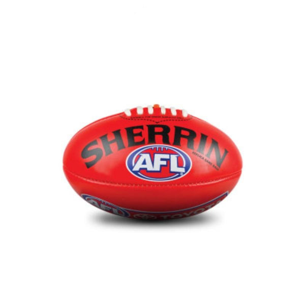 SHERRIN AFL REPLICA PVC MINI FOOTBALL RED