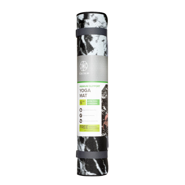 GAIAM PREMIUM SUPPORT 6MM YOGA MAT