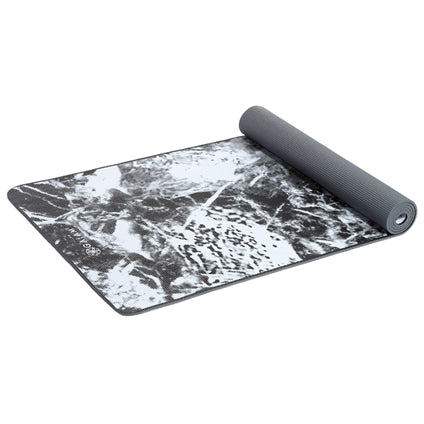 GAIAM PREMIUM SUPPORT DARK MARBLE 6MM YOGA MAT