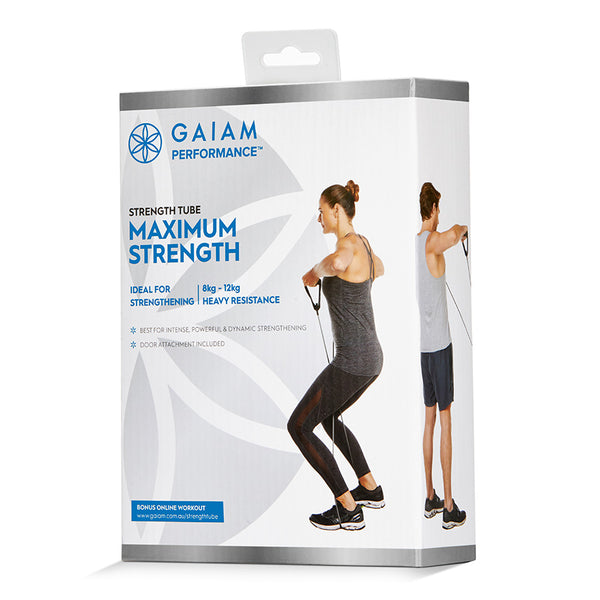 GAIAM PERFORMANCE STRENGTH TUBE MAXIMUM STRENGTH